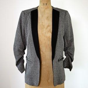 H&M Women's tuxedo twill blazer